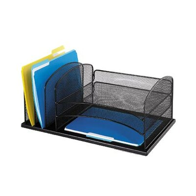 Safco Products Company Six Section Desk Organizer