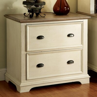 Riverside Furniture Coventry 2 Tone 2-Drawer  File Cabinet
