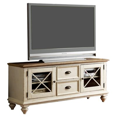 Cottage Two Tone TV Stand by Woodhaven Hill