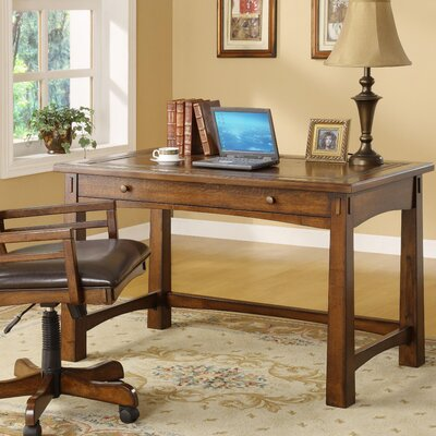 Riverside Furniture Craftsman Home Computer Desk with Keyboard Tray