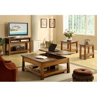 Riverside Furniture Craftsman Home End Table