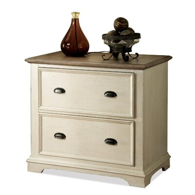 Coventry 2 Tone 2-Drawer File Cabinet by Riverside Furniture