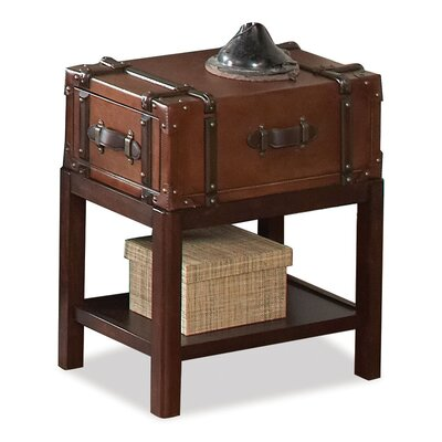 Latitudes Suitcase Chairside Table by Riverside Furniture