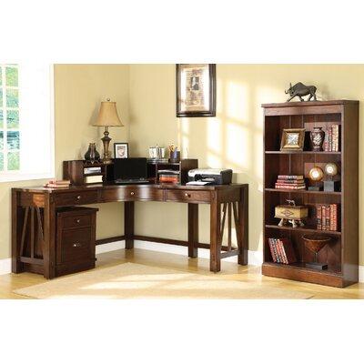 Riverside Furniture Castlewood 3-Piece L-Shape Desk Office Suite
