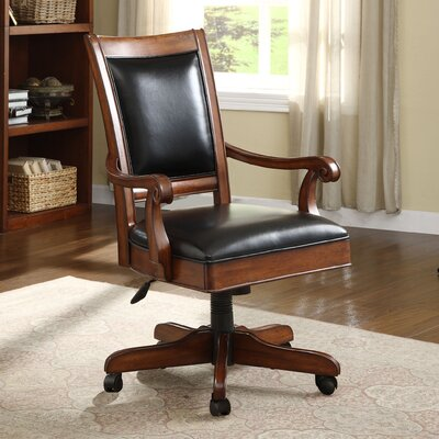 Riverside Furniture Bristol Court High-Back Desk Chair with Arm