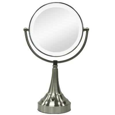 Zadro Round Vanity Mirror with LED Surround Light