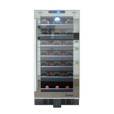 33 Bottle Single Zone Built-In Wine Refrigerator by Vinotemp