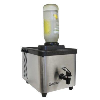 1 Bottle Single Zone Wine Refrigerator by Vinotemp
