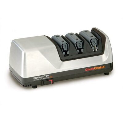 Hone Edge Select Plus Diamond Coated Stainless Steel Electric Knife Sharpener by Chef's Choice