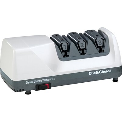 Ultra Hone Diamond Coated Stainless Steel Electric Knife Sharpener by Chef's Choice