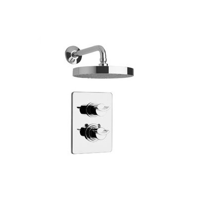 Morgana Two Handle Shower Head Set Product Photo