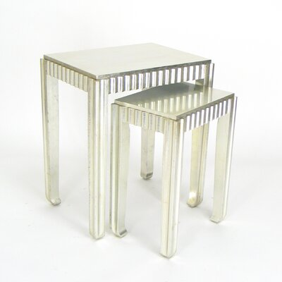 2 Piece Nesting Table Set I by Wayborn