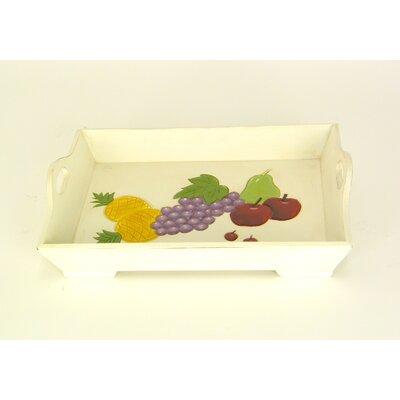 Wayborn Fruit Rectangular Serving Tray