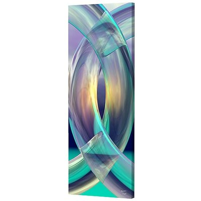 Tall Aqua Rings Limited Edition by Scott J. Menaul Framed Graphic Art by Menaul Fine ...