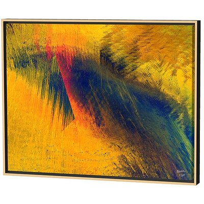 Menaul Fine Art Ice Patterns Limited Edition by Scott J. Menaul Framed Graphic Art