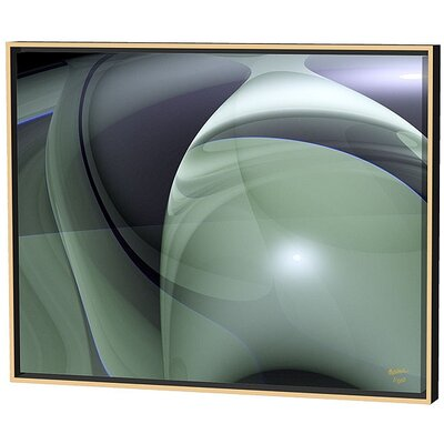 Menaul Fine Art Swirls Limited Edition by Scott J. Menaul Framed Graphic Art