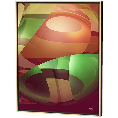 Menaul Fine Art Groovy Limited Edition by Scott J. Menaul Framed Graphic Art
