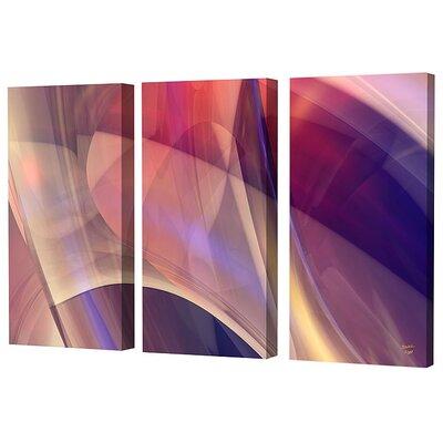 Menaul Fine Art Magic Canyon Limited Edition by Scott J. Menaul 3 Piece Framed Graphic Art Set