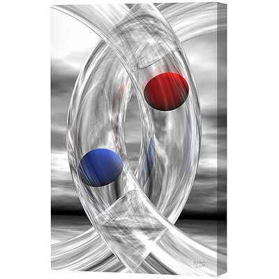 Rings and Spheres Limited Edition by Scott J. Menaul Framed Graphic Art by Menaul Fine ...