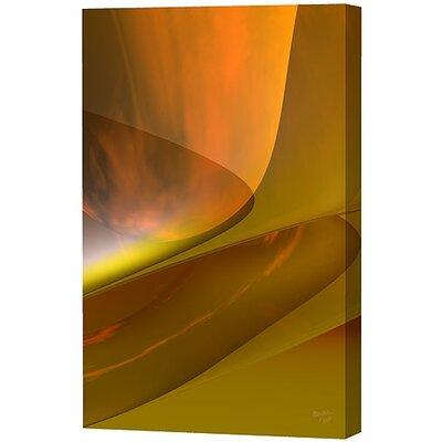 Menaul Fine Art Modern Mustard Limited Edition by Scott J. Menaul Framed Graphic Art
