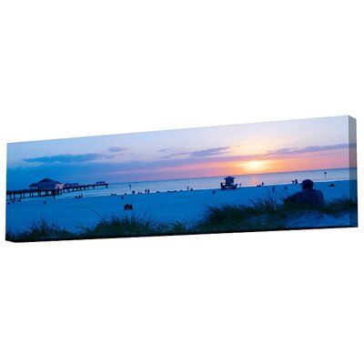 Menaul Fine Art Clearwater Beach Limited Edition by Scott J. Menaul Framed Photographic Print