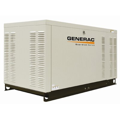 25 Kw Liquid-Cooled Single Phase 120/240 V Natural Gas Standby Generator with CSA, SCAQMD, and ...