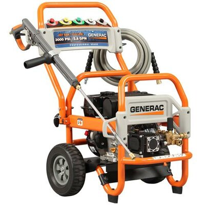 3100 PSI / 2.8 GPM Gas Powered Pressure Washer by Generac