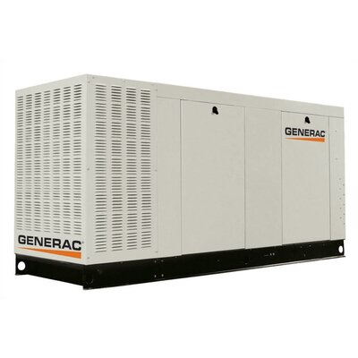 80 Kw Liquid-Cooled Single Phase 120/240 V Propane Standby Generator with CSA, and EPA ...