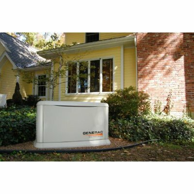 Generac Guardian 11 Kw Air-Cooled Single Phase 120/240 V Natural Gas Propane Standby Generator in Steel Enclosure