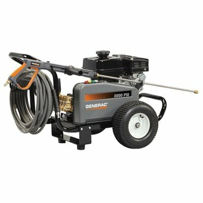 3000 PSI / 3 GPM Gas Powered Contractor Power Pressure Washer by Generac