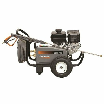 3500 PSI / 3.7 GPM Gas Powered Contractor Power Pressure Washer by Generac