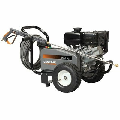 Generac 4000 PSI / 3.4 GPM Gas Powered Contractor Power Pressure Washer