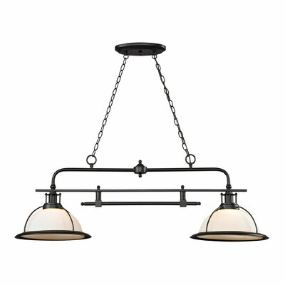 Wilmington 2 Light Kitchen Island/Billiard Pendant by Elk Lighting