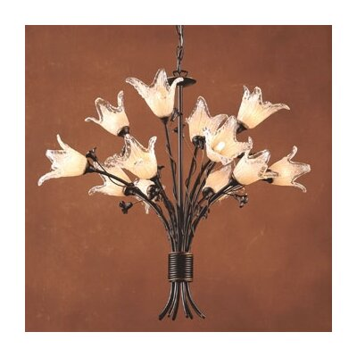 Fioritura 12 Light Chandelier Product Photo