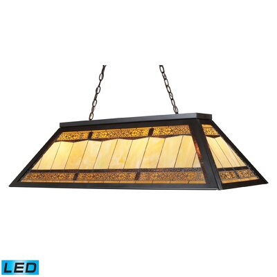 Filigree 4 Light Pool Table Light by Elk Lighting