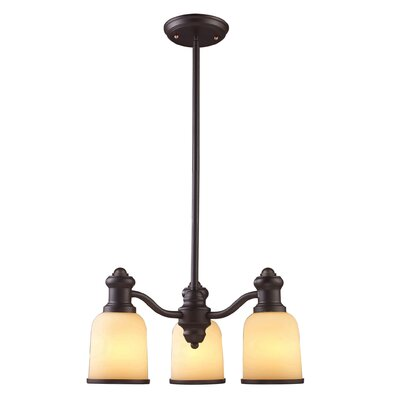 Brooksdale 3 Light Chandelier by Elk Lighting