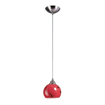 Elk Lighting Mela 1 Light Mini Pendant