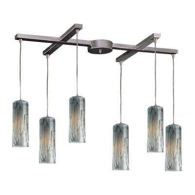 Elk Lighting Maple 6 Light Pendant