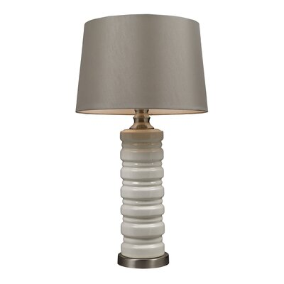 "Elk Lighting Overexposed 27.5"" H Table Lamp with Empire Shade"