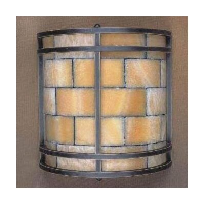 Elk Lighting Stone Mosaic 2 Light Wall Sconce