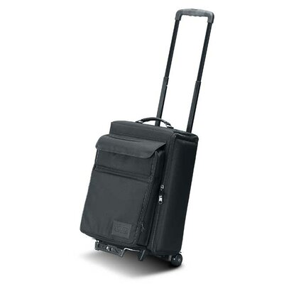 """Jelco Padded Hard Side Wheeled Projector Case with Removable Laptop Case: 23"""" H x 16.5"""" W x 12"""" D"""