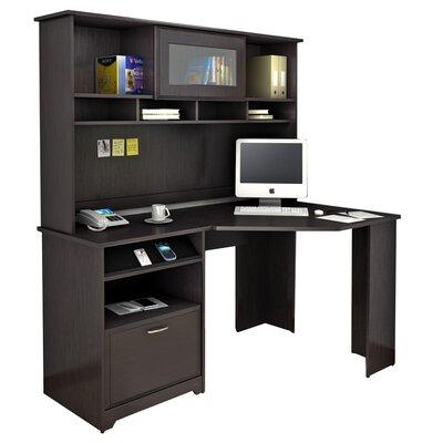 Bush Industries Cabot Corner Computer Desk With Hutch