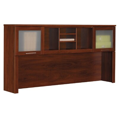 "Bush Furniture Somerset 35.8"" H x  71"" W  Desk Hutch"