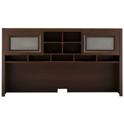 "Bush Furniture Achieve 39.49"" H x 70"" W Desk Hutch"