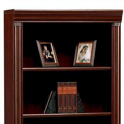 "Bush Furniture Birmingham Collection Cherry 40.5"" H x 29.5"" W Desk Hutch"