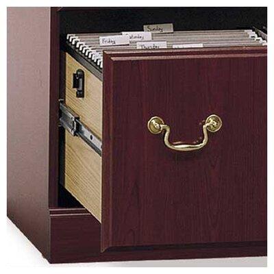 Bush Furniture Saratoga 2 Drawer Executive Lateral File