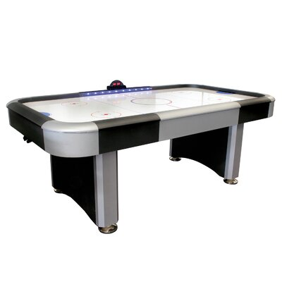 7' Air Hockey Table with Electra Lighted Rail by Verus Sports