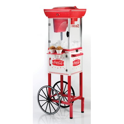 Coca-Cola Series Snow Cone Cart by Nostalgia Electrics