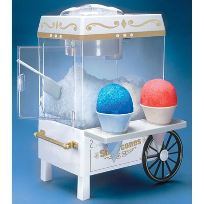 Nostalgia Electrics Old Fashioned Carnival Style Snow Cone Maker