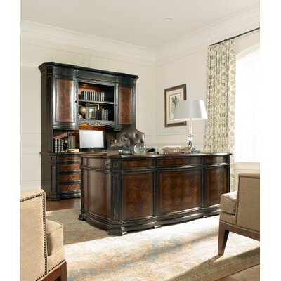Grandover 3-Piece Standard Desk Office Suite by Hooker Furniture